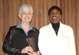 Dr. Joan McGowan (l) and Dr. Marja M. Hurley (r)