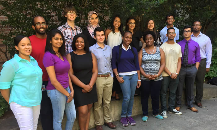 Group photo of participants of 2015 Summer Student Program