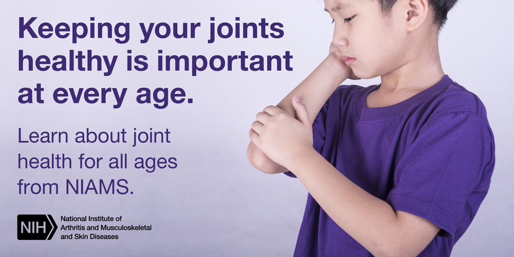 Keeping your joints healthy is important at any age.