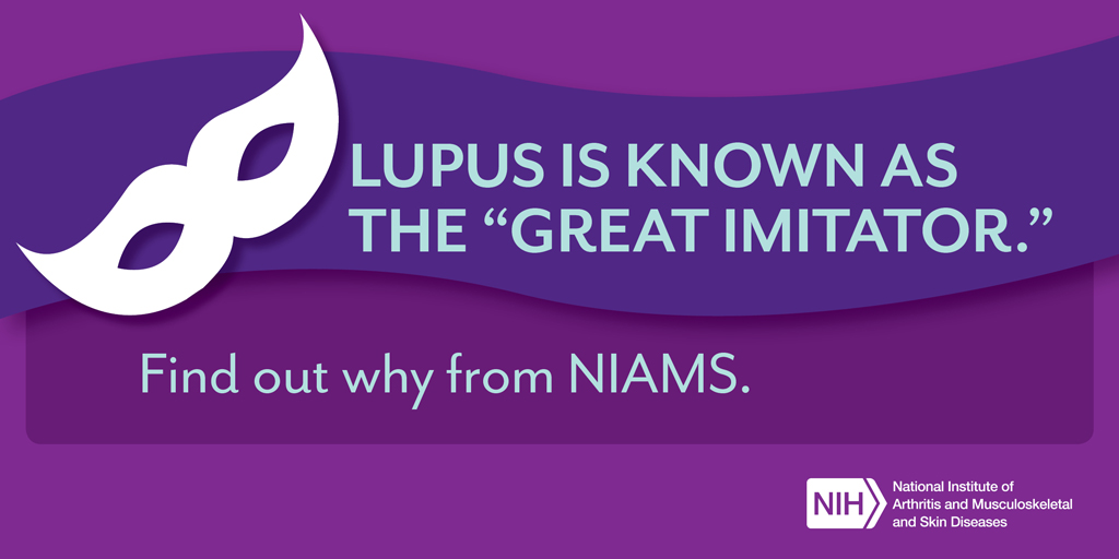 Lupus is known as the Great Imitator.