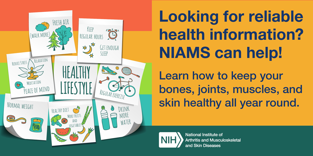 Looking for reliable health information? NIAMS can help!