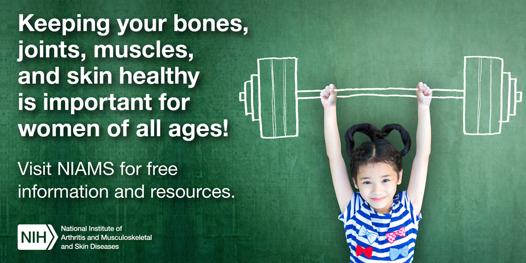 Keeping your bones, joints, muscles, and skin healthy is important for women of all ages!
