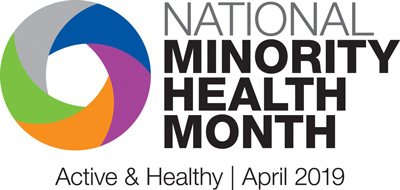 National Minority Health Month Logo