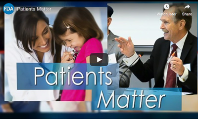 Patients Matter Video cover picture