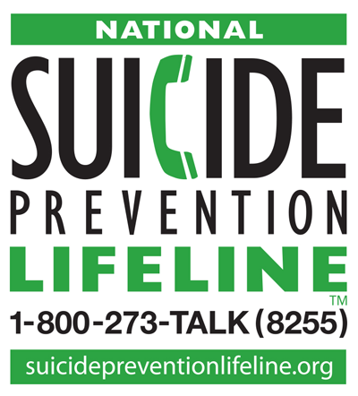 The National Suicide Prevention Lifeline cover