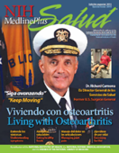 NIH Medline Plus magazine cover.