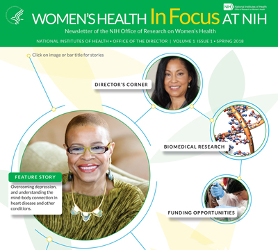 Women's Health in Focus at NIH cover