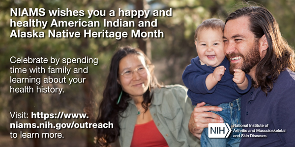 NIAMS wishes you a happy and healthy National Hispanic Heritage Month! - September card