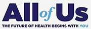 All of Us logo. The future of health begins with you