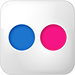 flickr icon.
