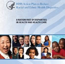 cover for HHS Action Plan To Reduce Racial and Ethnic Health Disparities